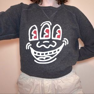 Uniqlo Keith Haring Sweatshirt